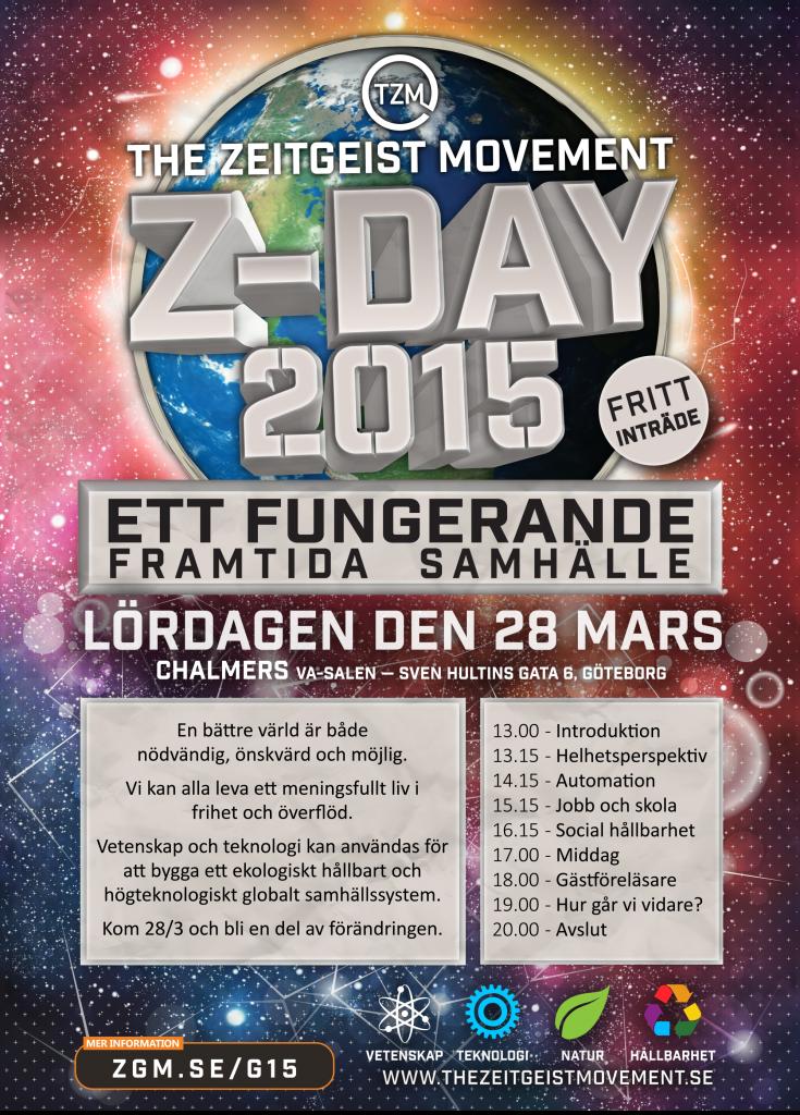 Planschen för Z-day 2015 Göteborg